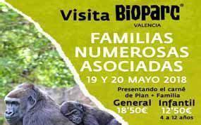 ¡Familias Numerosas al Bioparc!   Más de dos