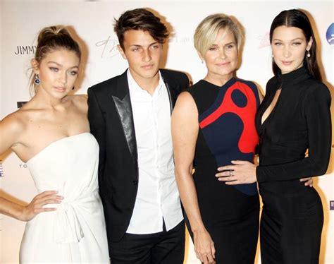 Family Business; Yolanda Hadid s Son Anwar Hadid Joins ...