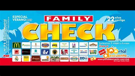FAMILY CHECK 96 ESPECIAL VERANO 2017   YouTube