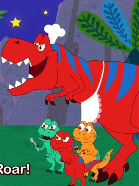 Family T Rex   Pinkfong dinoworld Wikia   Fandom