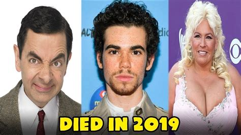 Famous Celebrities Who Died In 2019   YouTube