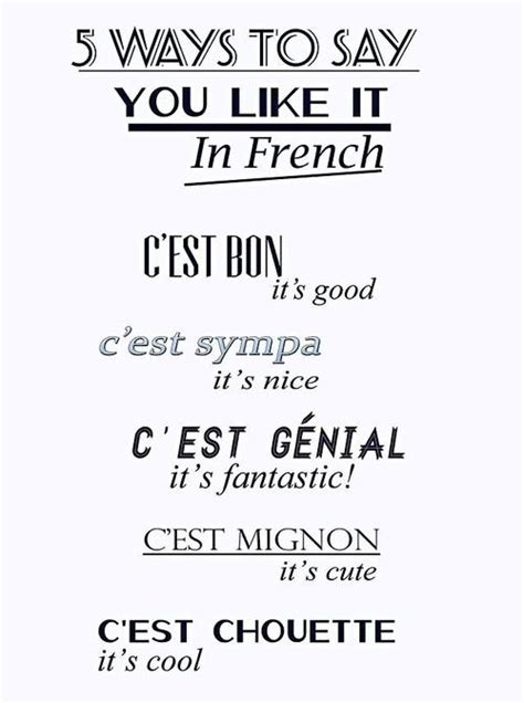 Famous Quotes In French Language. QuotesGram