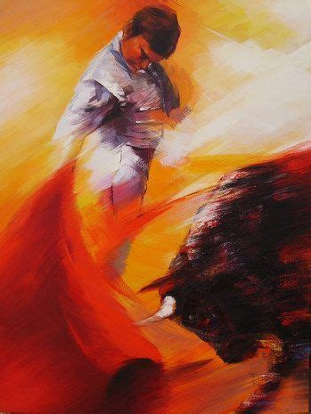 Famous Spanish Paintings | bullfighter a n matador painter ...