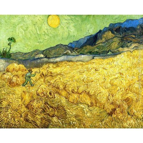 Famous Vincent Van Gogh paintings on canvas The Reaper ...