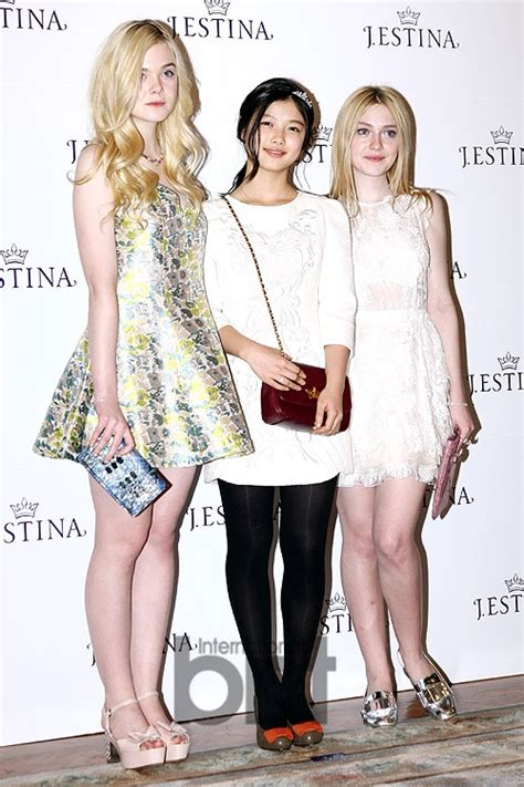 Fanning sisters, muse of 2013 J.Estina   Yahoo Celebrity ...