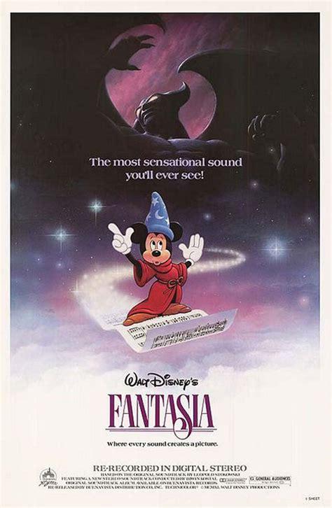 Fantasia  1940  Poster #2   Trailer Addict