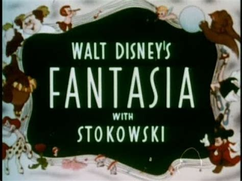 Fantasia   1940 Theatrical Trailer   YouTube