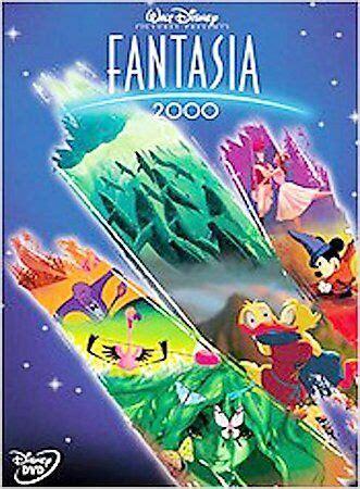Fantasia 2000 DVD Walt Disney w/Insert 717951008374   eBay