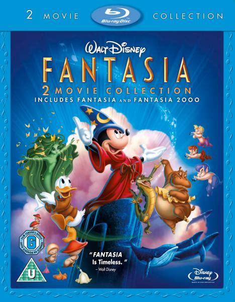 Fantasia: Double Pack  Fantasia / Fantasia 2000  Blu ray ...