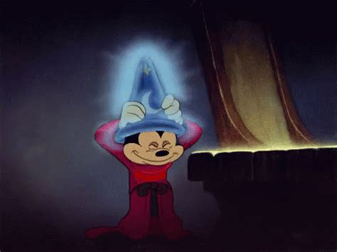 Fantasia GIF   Magical MagicHat Hat   Discover & Share GIFs