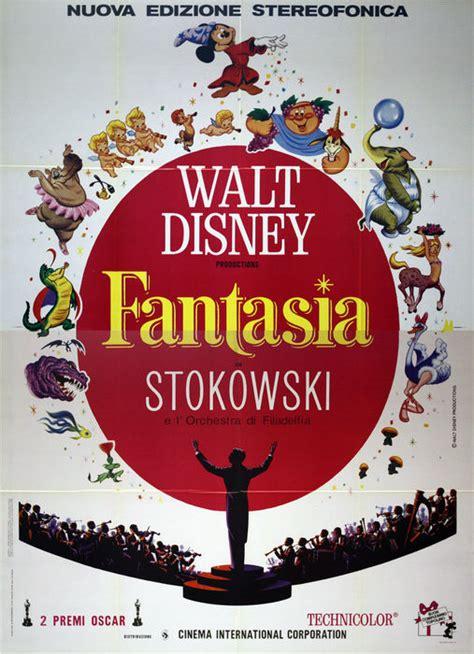 Fantasia   Original Italian Movie Poster   Walt Disney ...