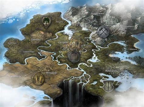 Fantasy Game Map by jbrown67 on DeviantArt | CG computer ...
