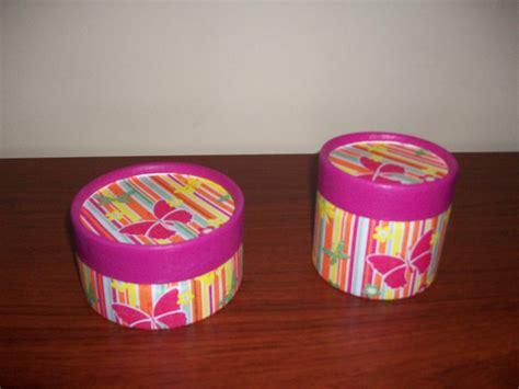 Fanylin: Cajas de Cartón  Pintadas/Decoupage