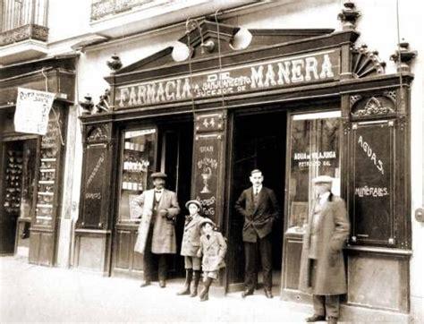Farmacia Manera, en el Barrio de Salamanca, Madrid, 1905 ...