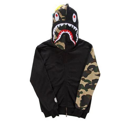 [Fashion brand] mens Clothing BAPE shark Hoodies lovers ...