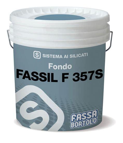 FASSIL F 357S   Fondo riempitivo minerale ad effetto ...