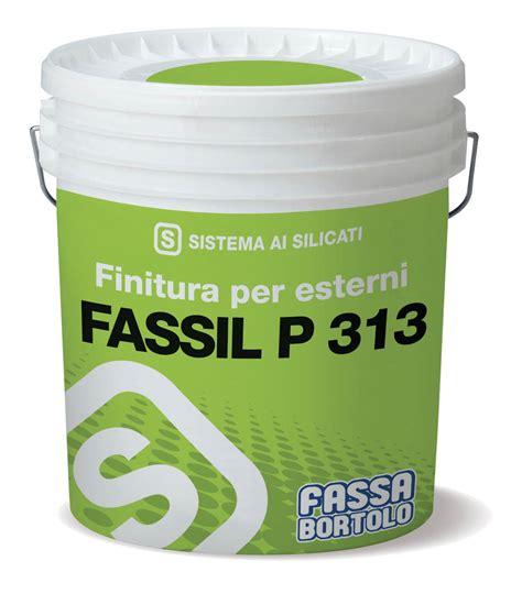 FASSIL P 313   Idropittura minerale ai silicati liscia ...