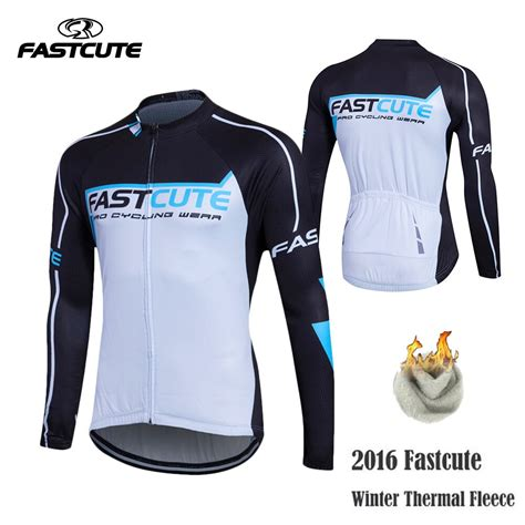 Fastcute 2016 Cycling Jersey Winter Bike Bicycle Thermal ...