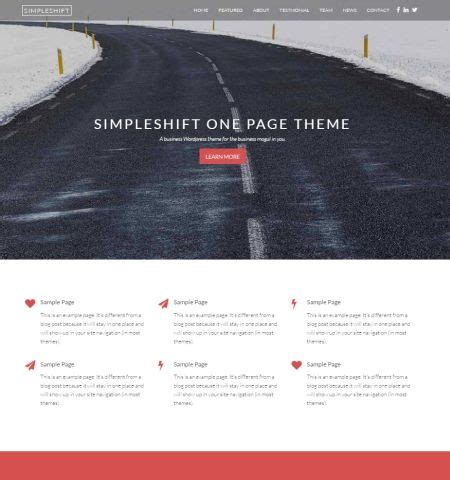 Favoritei: Tema wordpress gratuito   Simpleshift