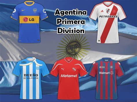 FB Kits.Argentina Primera Division | Football Manager Files