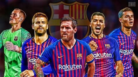 FC Barcelona 2019 Best Teamplay Goals 2019 | HD   YouTube