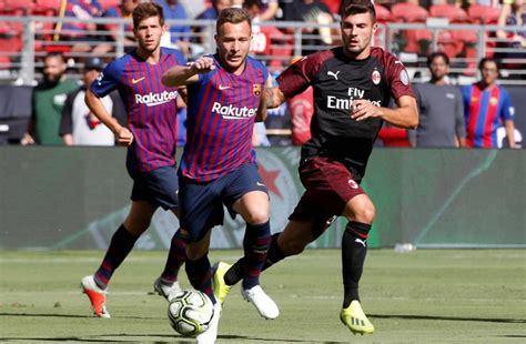 FC Barcelona   AC Milan: el partido de la International ...