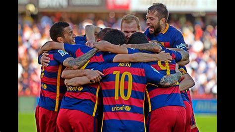 FC Barcelona All Goals La Liga 2015/2016 HD   YouTube