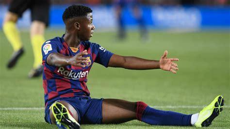 FC Barcelona: Ansu Fati no está inscrito en la Champions ...