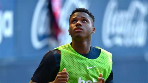 FC Barcelona: Ansu Fati se gana el ascenso   Marca.com