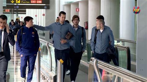 FC Barcelona arrives in San Sebastian to face Real ...