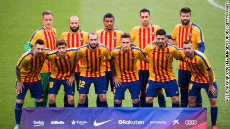 FC Barcelona bars fans from match amid Catalan turmoil   CNN