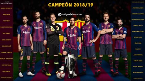 FC Barcelona crowned champions of LaLiga Santander 2018/19 ...