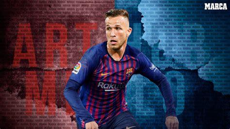 FC Barcelona: El Barça anuncia el fichaje de Arthur ...