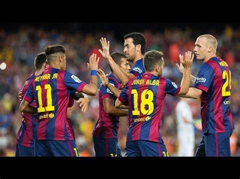 FC Barcelona   Genius Football 2014/2015  HD    YouTube