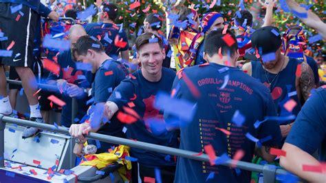 FC Barcelona   La Liga Champions Parade 2016  full version ...
