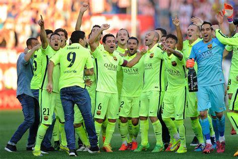 FC Barcelona News: 18 May 2015; Barça Crowned 2014 2015 La ...