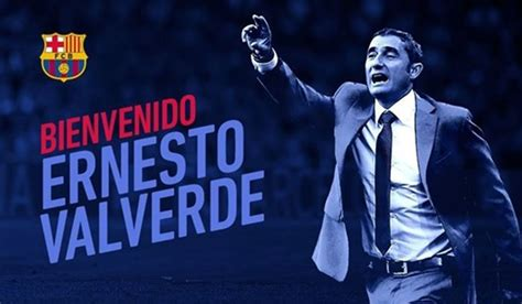 FC Barcelona Of Spain Name Ernesto Valverde As New Coach ...