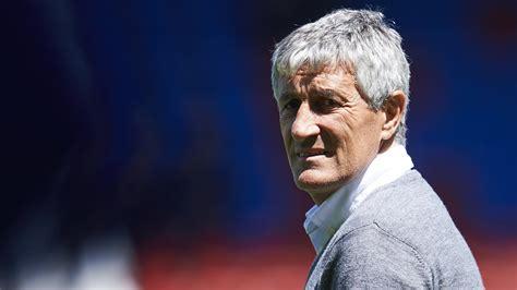 FC Barcelona: Quique Setién ist der Platzhalter für ...