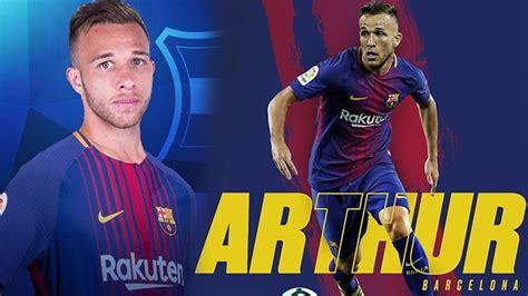 FC Barcelona Resmi Datangkan Gelandang Arthur Melo dari ...