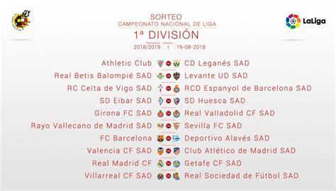 Fc Barcelona Schedule 2019 La Liga