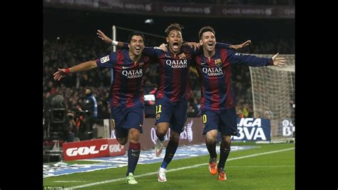 FC Barcelona   The MSN Trio 2015   YouTube