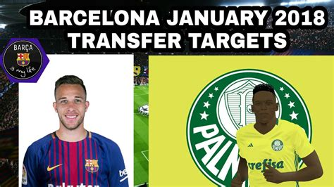 FC Barcelona Top January Transfer Targets 2018 | ft ...