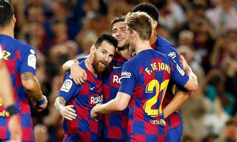 fc barcelona vs sevilla 4 0 highlights goals replay video ...