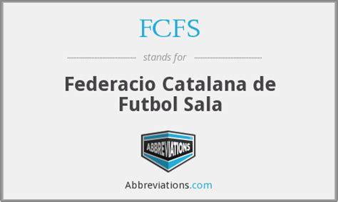 FCFS   Federacio Catalana de Futbol Sala