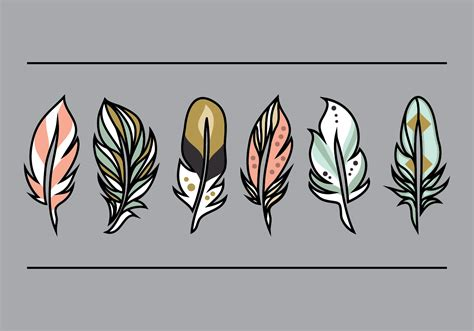 Feather Vector Illustration   Download Free Vectors ...