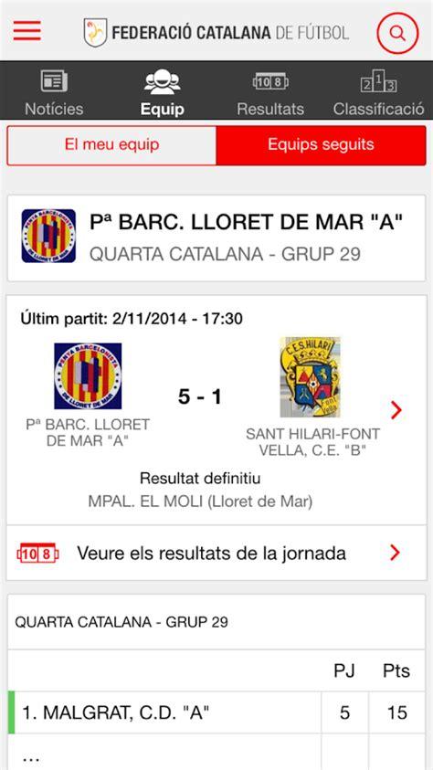 Federació Catalana Futbol FCF   Aplicaciones de Android en ...