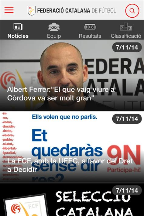 Federació Catalana Futbol FCF   Aplicacions d Android a ...