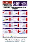 Federación de Construcción y Servicios   Calendarios de Aragón