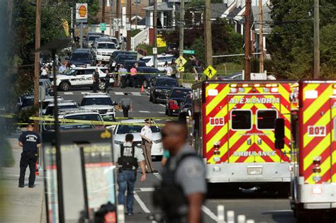 Federal, local law enforcement respond   Shooting in ...