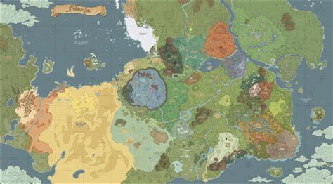 Felarya map V2 by Karbo on DeviantArt